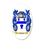 Riddel 35x21 Oval Wall Decal