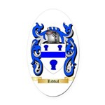 Riddal Oval Car Magnet