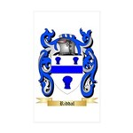 Riddal Sticker (Rectangle 50 pk)