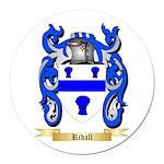 Ridall Round Car Magnet