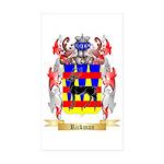 Rickman Sticker (Rectangle 50 pk)