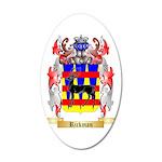 Rickman 35x21 Oval Wall Decal