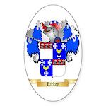Rickey Sticker (Oval)