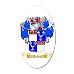 Rickey 20x12 Oval Wall Decal