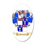 Rickey 35x21 Oval Wall Decal