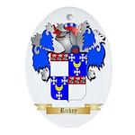 Rickey Oval Ornament