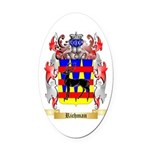 Richman Oval Car Magnet