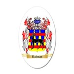 Richman 20x12 Oval Wall Decal