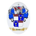 Richie Oval Ornament