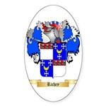 Richey Sticker (Oval 50 pk)