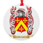 Riches Round Ornament