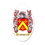 Riches Oval Car Magnet