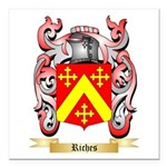 Riches Square Car Magnet 3
