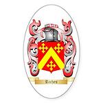 Riches Sticker (Oval 50 pk)