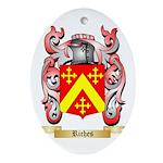 Riches Oval Ornament