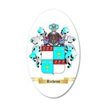 Richens 20x12 Oval Wall Decal