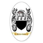 Richardson Sticker (Oval 10 pk)