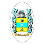 Richardson 2 Sticker (Oval 10 pk)
