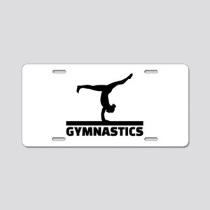 Gymnastics Aluminum License Plate