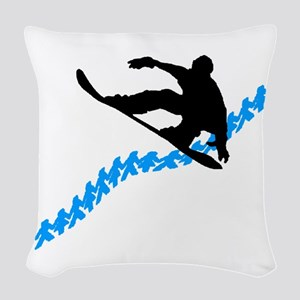TERRAIN PARK DAY Woven Throw Pillow