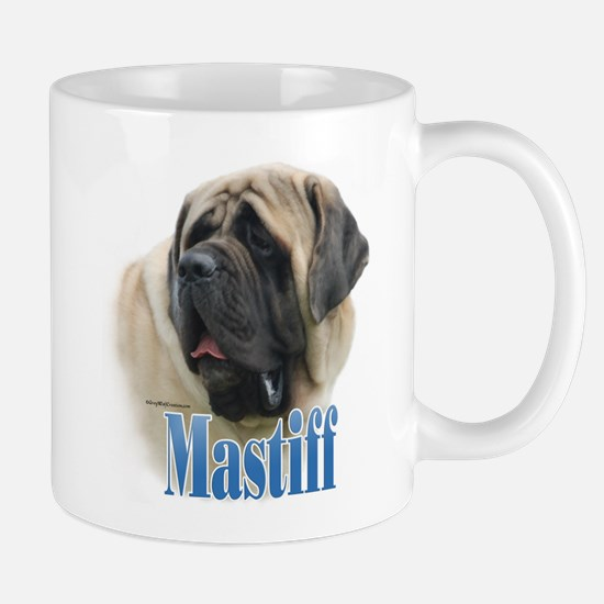 Mastiff(fawn)Name Mug