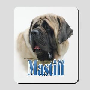 Mastiff(fawn)Name Mousepad