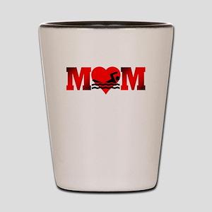 Swimming Mom Shot Glass