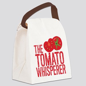 The Tomato Whisperer Canvas Lunch Bag