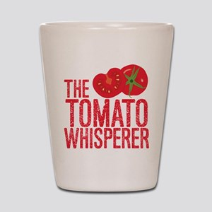 The Tomato Whisperer Shot Glass