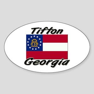 Tifton Georgia Oval Sticker
