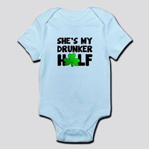 She's My Drunker Half Body Suit