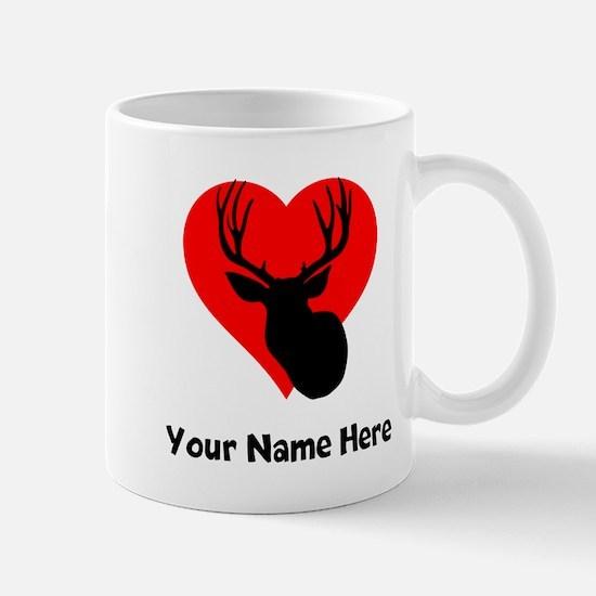 Custom Hunting Heart Mugs