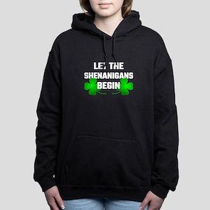 Let The Shananigans Begi Women's Hooded Sweatshirt