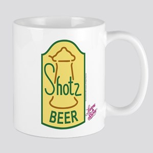 Laverne and Shirley: Shotz Beer Logo Mug