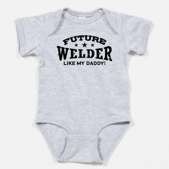 Cute Trust me my dad is a dentist Baby Bodysuit