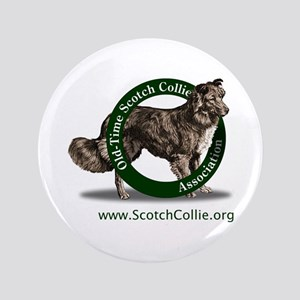 Scotch Collie Logo Button