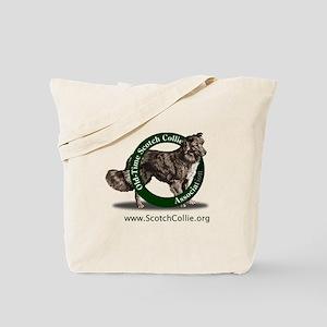 Scotch Collie Logo Tote Bag