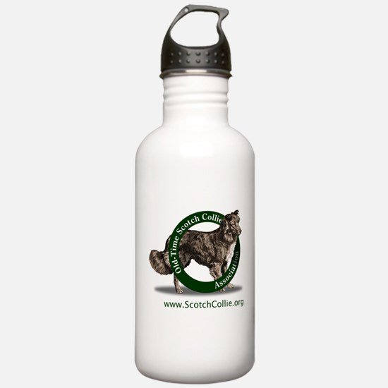 Scotch Collie Logo Water Bottle