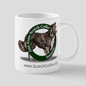 Scotch Collie Logo Mugs