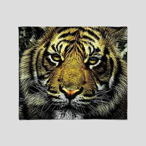 Tiger Throw Blanket