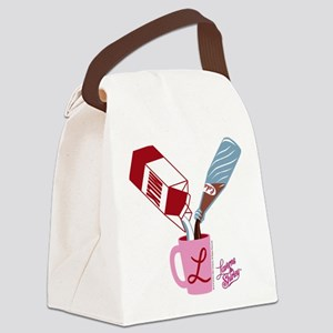 Laverne and Shirley: Milk and Pep Canvas Lunch Bag