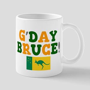 G'DAY BRUCE - AUSTRALIA! Mugs