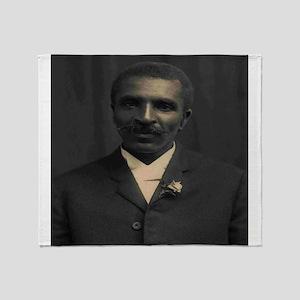 George Washington Carver Throw Blanket