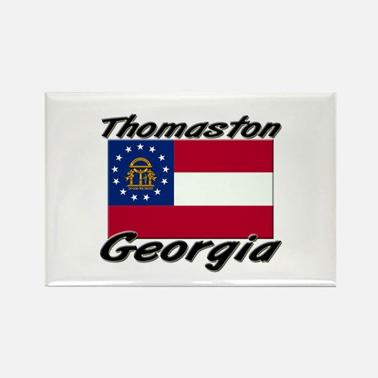Thomaston Georgia Rectangle Magnet