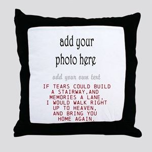 In memory of Personalize Throw Pillow