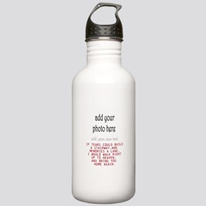 In memory of Personalize Water Bottle
