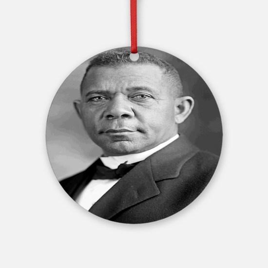 Booker T Washington Round Ornament