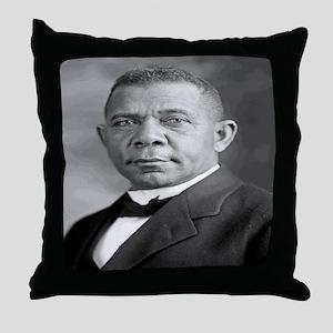 Booker T Washington Throw Pillow