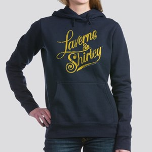 Laverne and Shirley Yell Women's Hooded Sweatshirt