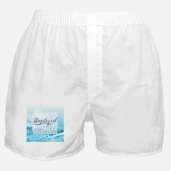 Baptized 2016 Boxer Shorts